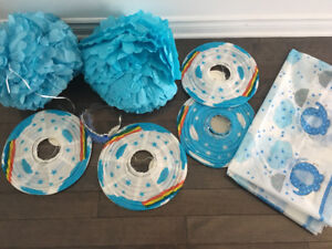 Birthday/ Baby Shower Decorations - Very Good Condition!