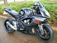 Suzuki GSXR600 k6 black Race Replica Supersport 600 p/ex car,bike £199 deposit!