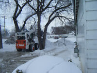 24 hr snow removal on call small or large properties and acreage