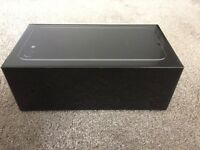 IPHONE 7 JET BLACK 128gb, ON 02, GIFF GAFF & TESCO BRAND NEW SEALED UNOPENED BOX, WARRANTY, MAY SWAP