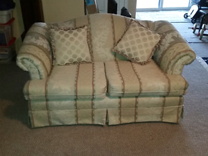 Love Seat & Matching Three Seater Couch