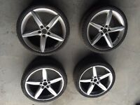 "Audi 19"" 5 Spoke S Line Alloys"
