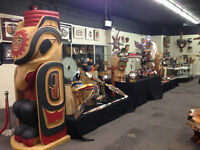 AMAZING NATIVE ART AND FINE JEWELLERY AUCTION JUNE 6TH