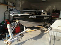 2008 Legend Angler with 2007 25HP Mercury 4-stroke