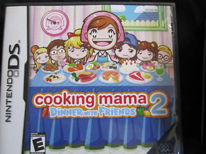 Jeu Cooking Mama 2 Dinner with Friends pour Nintendo DS