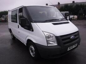 FORD TRANSIT 260 SWB LR Double Cab, White, Manual, Diesel, 2008