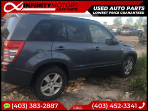 2008 SUZUKI GRAND VITARA FOR PARTS PARTING OUT CARS CAR PARTS