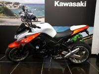 2011 KAWASAKI Z1000 ZR1000 DAF LIMITED EDITION In White/Orange, low mileage
