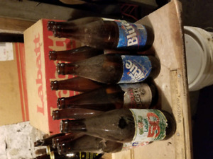 Just reduced from 60 to 40 Antique Beer Bottles