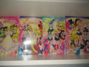 Sailor Moon stationary lot.