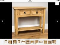 Wanted console table