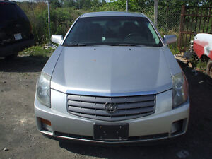 PARTS AVAILABLE FOR A 2004 CADILLAC CTS