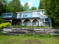 REDUCED PRICE: WATERFRONT COTTAGE /CAMP ON GRAND BAY