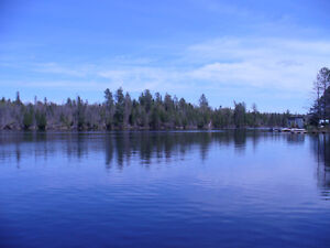 WATERFRONT LOT ON QUIET LAKE IN COTTAGE COUNTRY