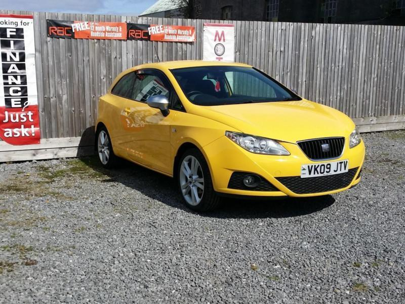 seat ibiza 1 4 16v 85 sport coupe 2009 in llanelli carmarthenshire gumtree. Black Bedroom Furniture Sets. Home Design Ideas