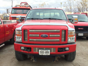 2008 Ford F-250 XLT with 8ft Blizzard Plow - $17,500