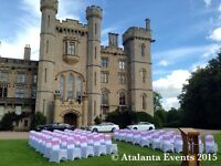 CHAIR COVERS 🌟 CENTREPIECES 🌟 DECORATIONS