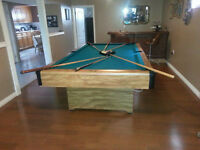 Pool Table $500 OBO