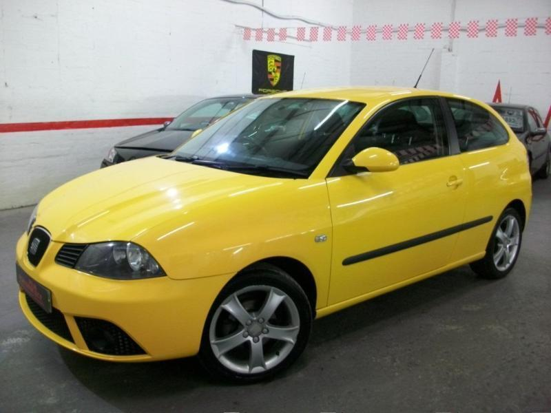 2007 07 seat ibiza 1 4 16v sport 3dr yellow low miles not cupra fr in kidderminster. Black Bedroom Furniture Sets. Home Design Ideas