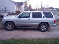 2002 Nissan Pathfinder XE SUV Etested 1250 OBO
