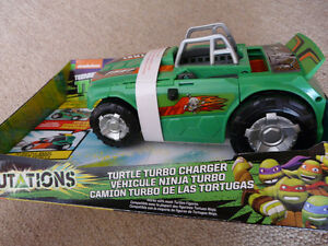 Brand New Teenage Mutant Ninja Turtles Turbo Charger