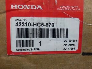 HONDA TRX 300 AXLE #42310-HC5-970 ( NEW ) FITS MODELS FROM 93-00
