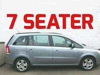 7 SEATER 2010/60 VAUXHALL ZAFIRA 1.6 EXCLUSIVE 12 MONTHS MOT FULL SERVICE HISTORY