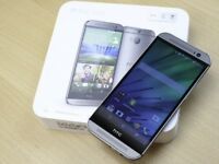 HTC One M8 Unlocked SIM Free Smartphone Android Quad-Core boxed pack