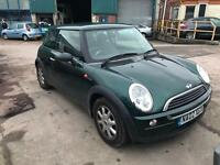 Mini Mini 1.6 One 3 DOOR - 2002 02-REG - 8 MONTHS MOT