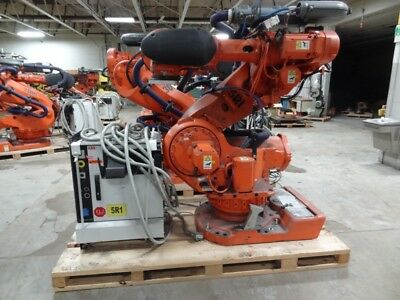 Abb Irb 7600 6 Axis Cnc Robot 500kg X 2.55 Reach With Irc5 Control New 2012