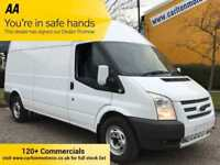2013/ 13 Ford Transit 2.2Tdci 125 350 LWB High Roof [ MOBILE WORKSHOP ] Van RWD