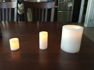 Real Wax Flameless Candles - Votives and Pillers London Ontario image 3
