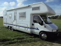 2003 Burstner A747-2 Motorhome with large rear garage SOLD SIMILAR REQUIRED
