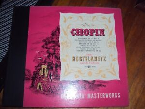 Vintage Classical Chopin Record Set in Album