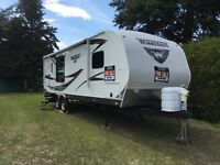 Winnebago 26' trailer, next to new