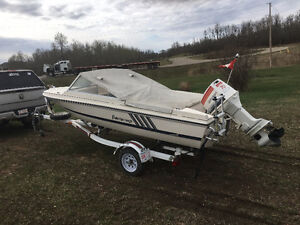 Excellent boat, motor and trailer