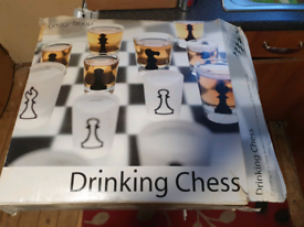 Drinking chess set