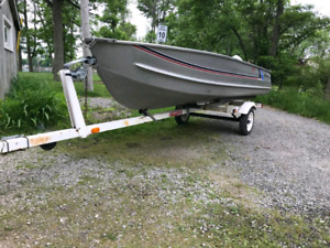 14 Foot Sea Nymph Boat and Trailer