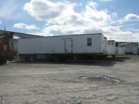 Office trailer for rent or lease