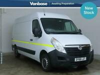 2016 Vauxhall Movano 2.3 CDTI H2 110ps Medium Wheelbase L2H2 High Roof Van PANEL