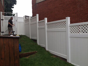 PVC Fence year end Sale Gatineau Ottawa / Gatineau Area image 1