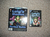 Luigi's Mansion Gamecube Game with Strategy Guide