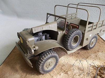 Modelik 11/10 - DODGE WC-51    1:25   mit Lasercutteilen