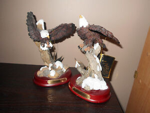 2 Bald Eagle Statues - $15 each or $25 for the pair