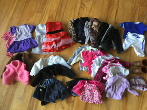 American girl doll clothes bundle