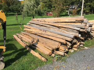 Split Cedar Logs - Fall Special