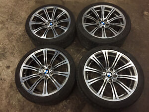 """OEM E9x 19"""" M3 wheels (Style 220) with Tires"""