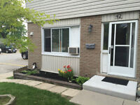 End Unit Townhouse Condo, with private fenced in yard!   Sept.1