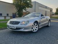 2003 53 MERCEDES SL350 CONVERTIBLE AMAZING PERFORMANCE AND COMFORT