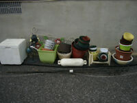 FREE Flower Pots & Garden Items Etc. Lot